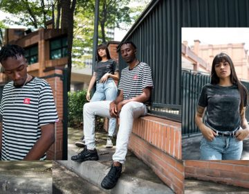 Chuva, metrópole e fotografia inspiram collab da AIX com a Contexto