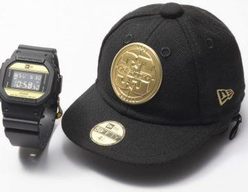 Parceria entre New Era e G-Shock celebra 35 anos do DW-5600