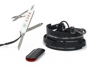 PACE colabora com Victorinox em canivete personalizado