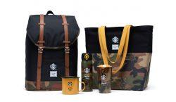 Parceria entre Starbucks e Herschel traz acessórios essenciais para o…