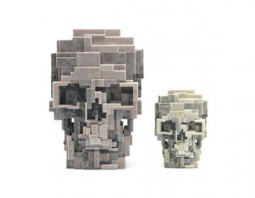 Unique Board e Adam Lister lançam escultura de crânio em 3D