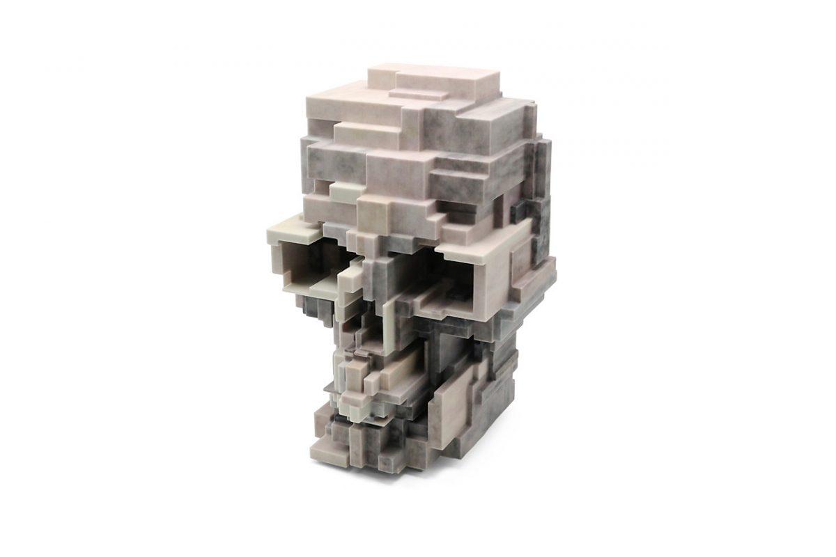 unique board adam lister skull sculpture 03 - Unique Board e Adam Lister lançam escultura de crânio em 3D