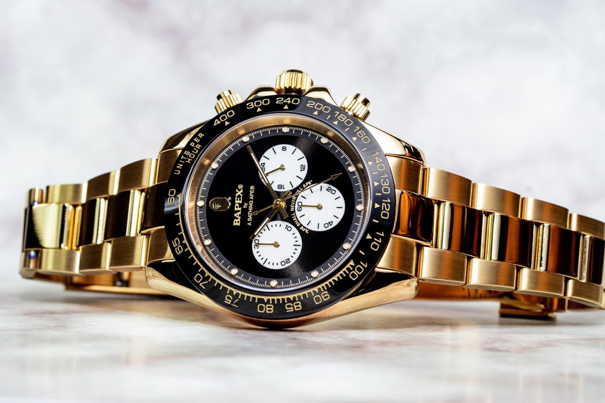 bape relogio bapex type 4 01 - BAPEX Type 4: O novo relógio da BAPE