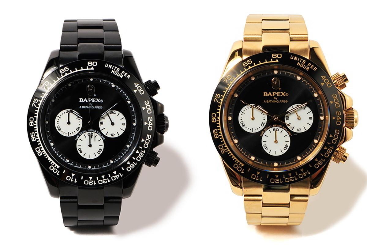 bape relogio bapex type 4 02 - BAPEX Type 4: O novo relógio da BAPE