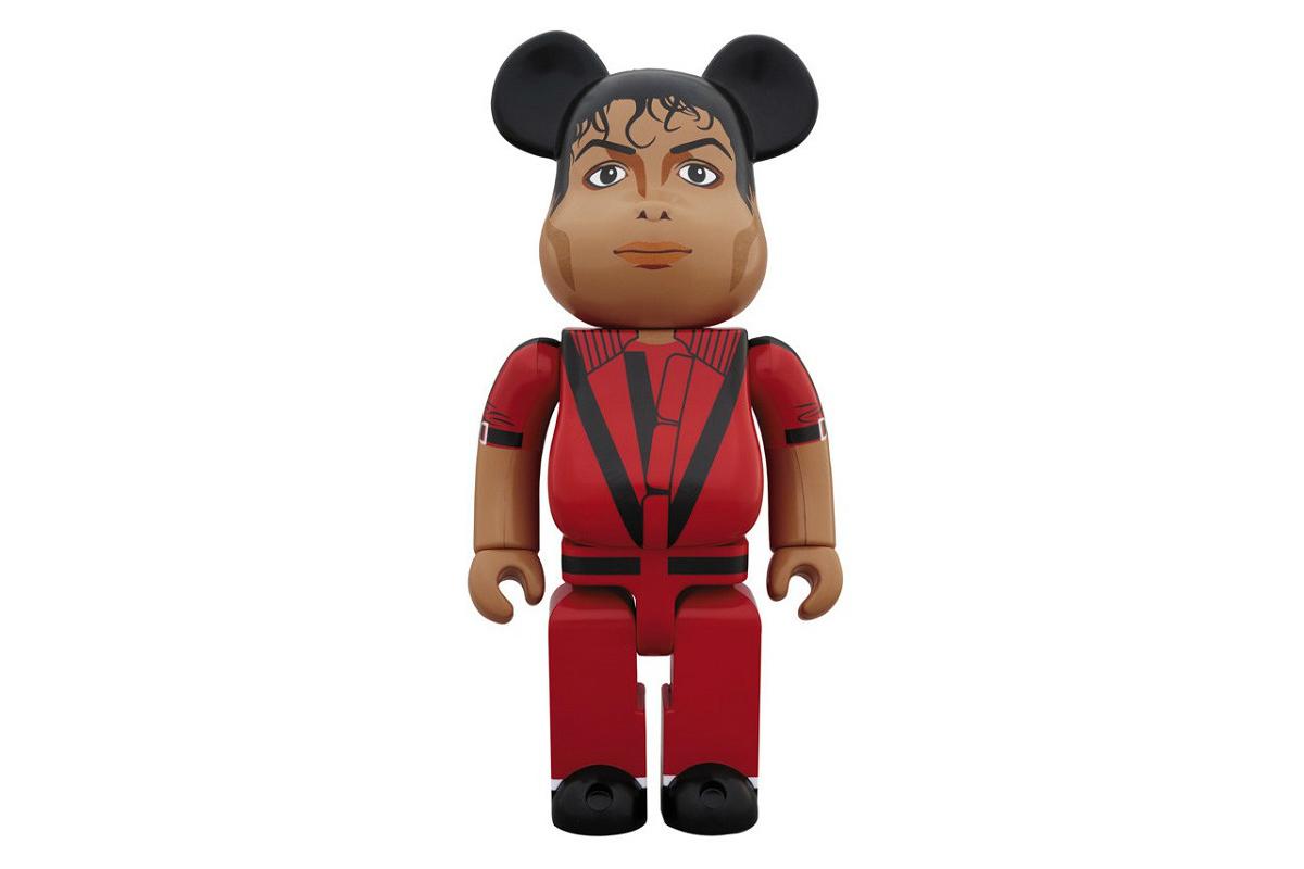bearbrick michael jackson red velvet thriller 01 - Medicom lança BE@RBRICK de Michael Jackson com a roupa de 'Thriller'