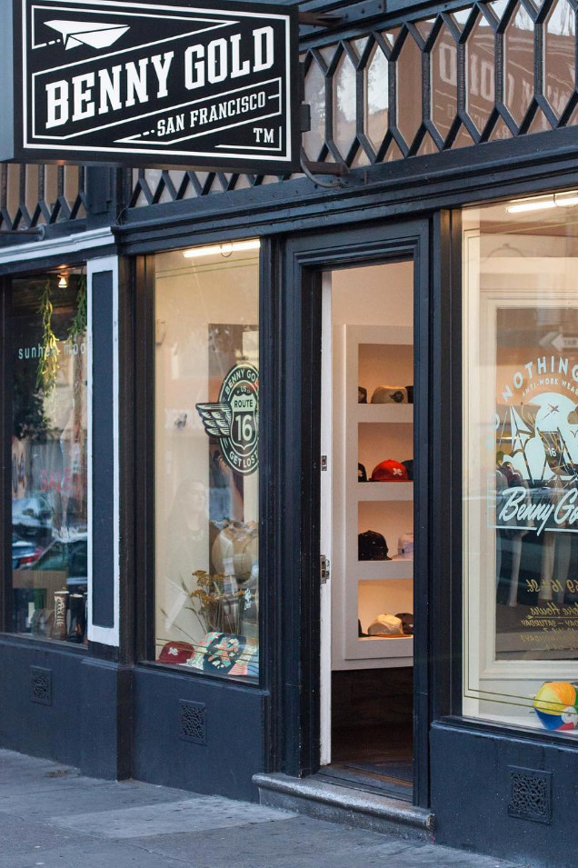 benny gold loja fachada - Benny Gold se despede do streetwear após 15 anos