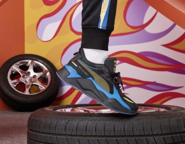 PUMA pisa fundo em colaboração com Hot Wheels