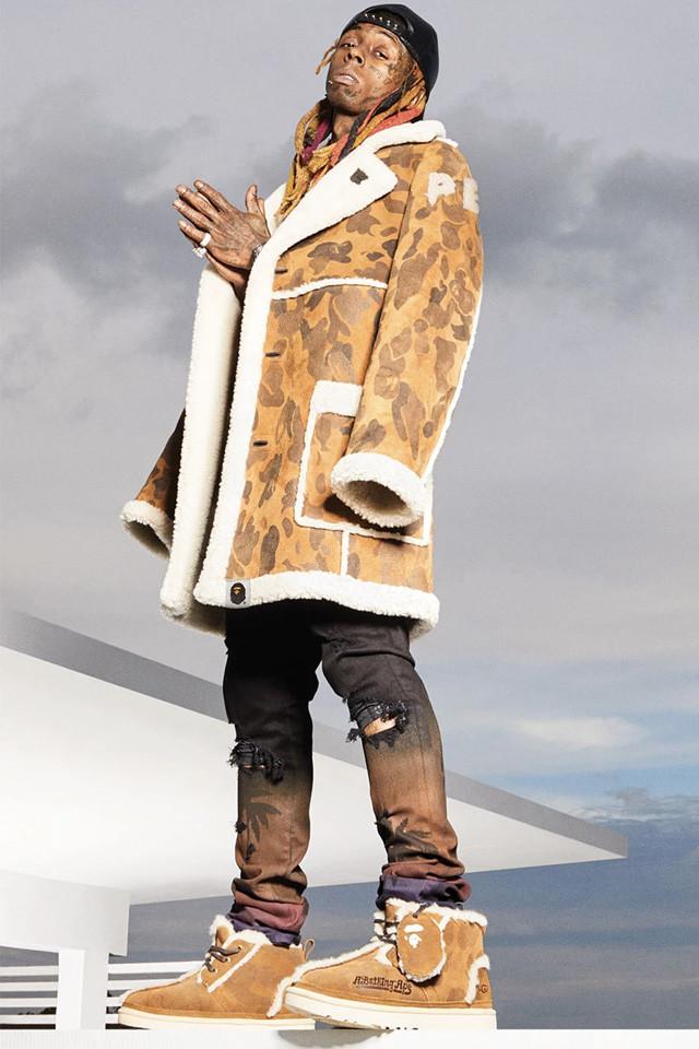bape ugg lil wayne lookbook 06 - Lil Wayne apresenta parceria da BAPE com a UGG
