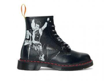 Dr. Martens e Sex Pistols se unem em nova linha de calçados