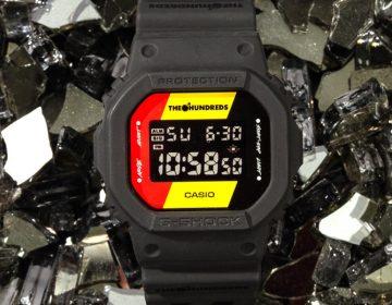G-Shock traz collab com The Hundreds para o Brasil