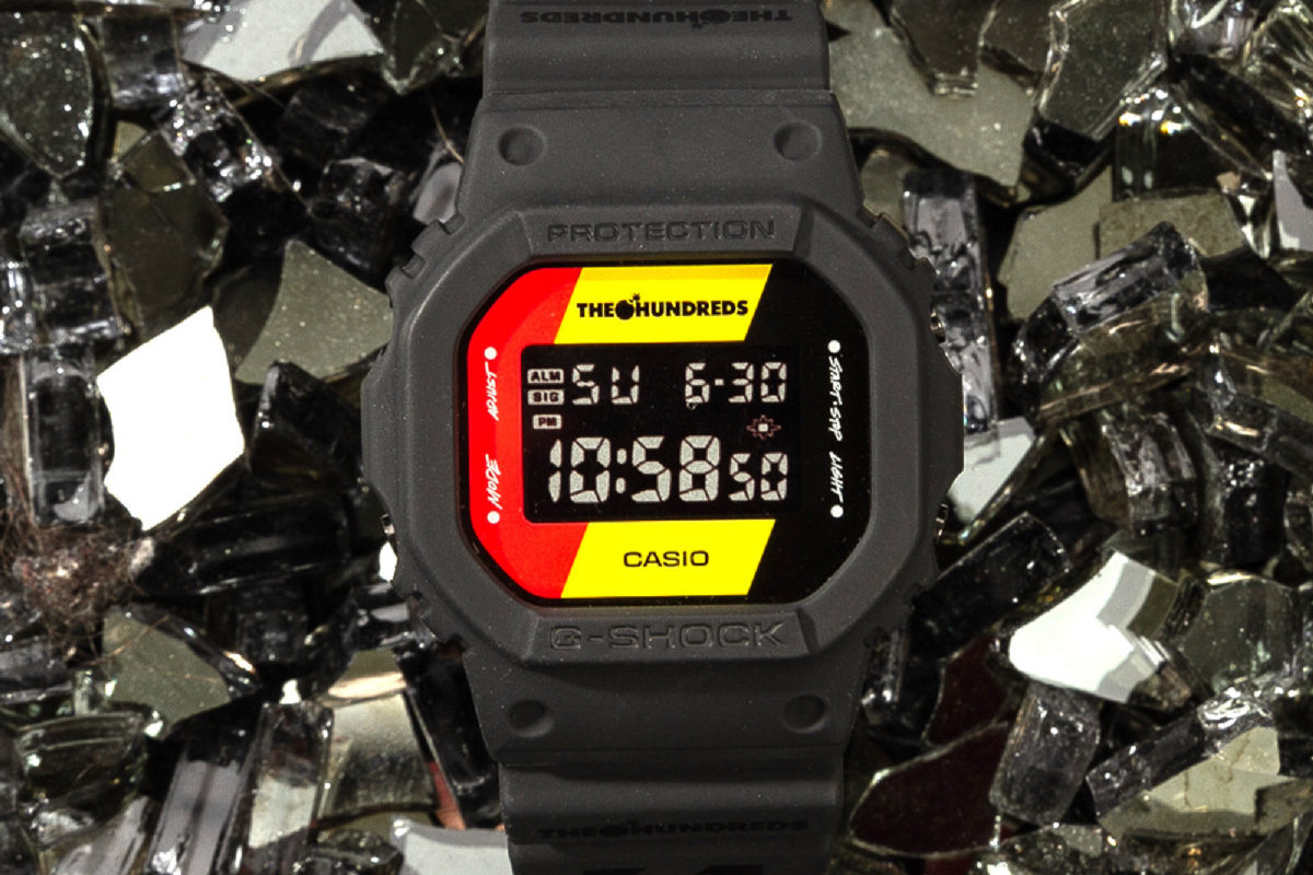 aa47eceb54d G-Shock traz collab com The Hundreds para o Brasil