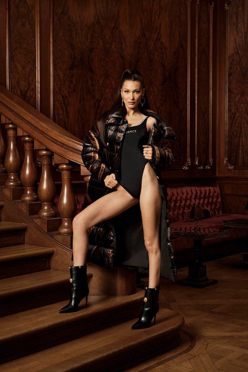 kith versace bella hadid campanha colab 01 - KITH e Versace revelam colab com lookbook estrelado por Bella Hadid