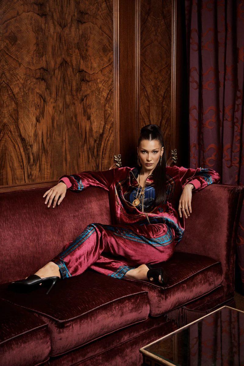 kith versace bella hadid campanha colab 05 - KITH e Versace revelam colab com lookbook estrelado por Bella Hadid