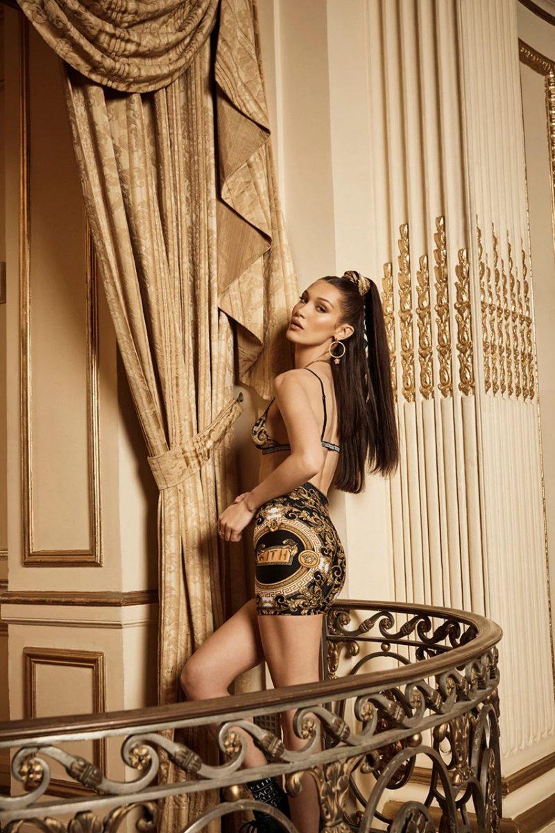 kith versace bella hadid campanha colab 10 - KITH e Versace revelam colab com lookbook estrelado por Bella Hadid