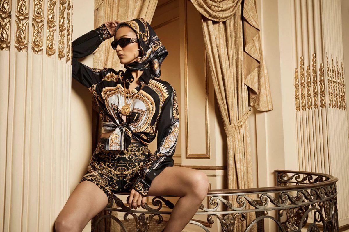 kith versace bella hadid campanha colab 12 - KITH e Versace revelam colab com lookbook estrelado por Bella Hadid