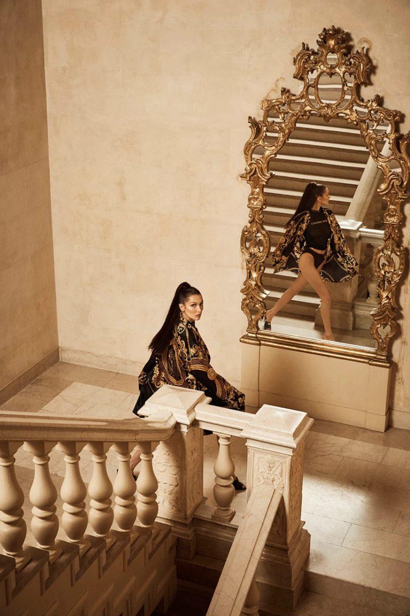 kith versace bella hadid campanha colab 13 - KITH e Versace revelam colab com lookbook estrelado por Bella Hadid