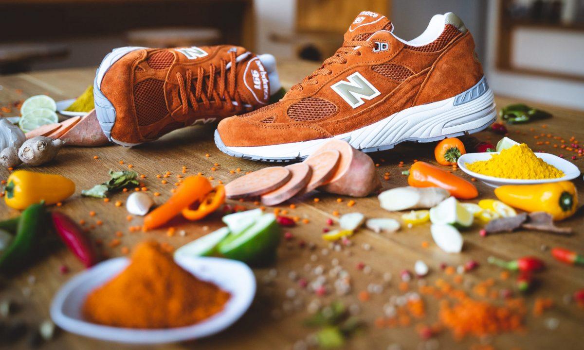 new balance m991se made in england eastern spices 01 - New Balance M991SE recebe colorway inspirada no açafrão