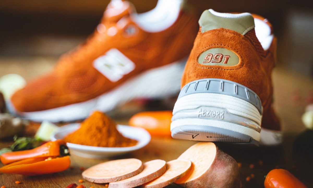 new balance m991se made in england eastern spices 02 - New Balance M991SE recebe colorway inspirada no açafrão