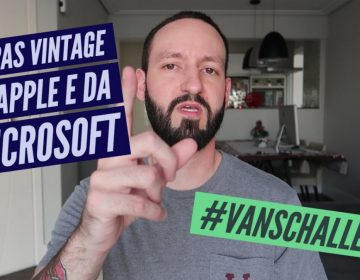 Drops da semana – Roupas vintage da APPLE e da MICROSOFT, #VANSCHALLENGE