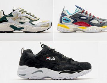 FILA revive três sneakers clássicos dos anos 90