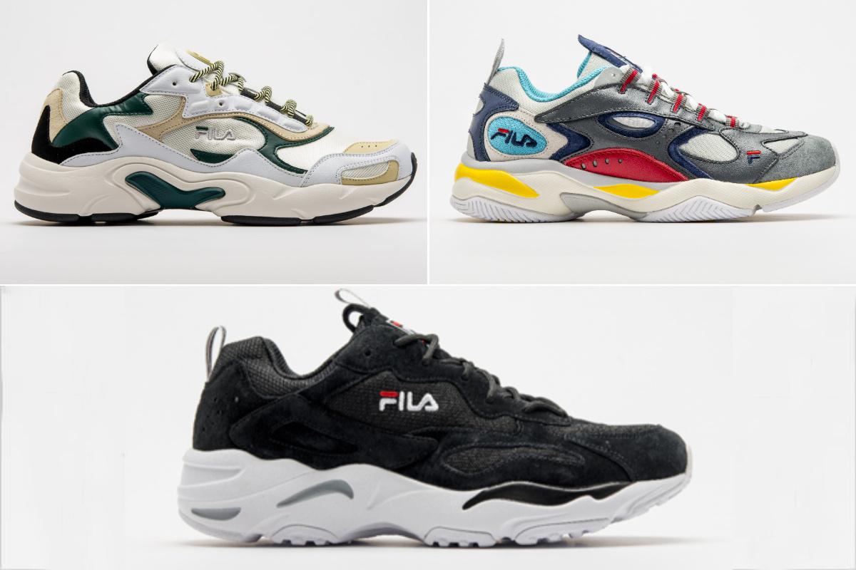 de3e3c8afa5 FILA revive três sneakers clássicos dos anos 90