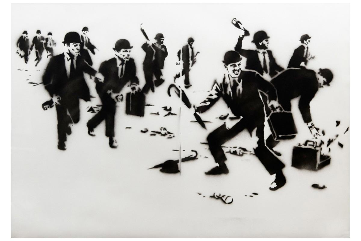 phillips banksy the authentic rebel 01 - Obras icônicas de Banksy serão exibidas pela primeira vez em Taiwan