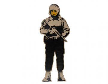 Obras icônicas de Banksy serão exibidas pela primeira vez em Taiwan