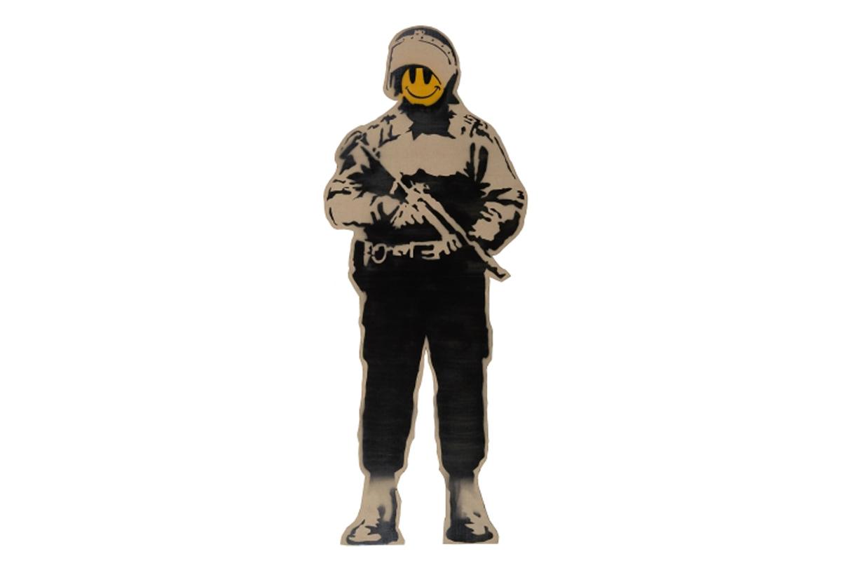phillips banksy the authentic rebel 02 - Obras icônicas de Banksy serão exibidas pela primeira vez em Taiwan