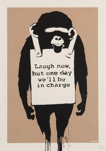 phillips banksy the authentic rebel 07 - Obras icônicas de Banksy serão exibidas pela primeira vez em Taiwan