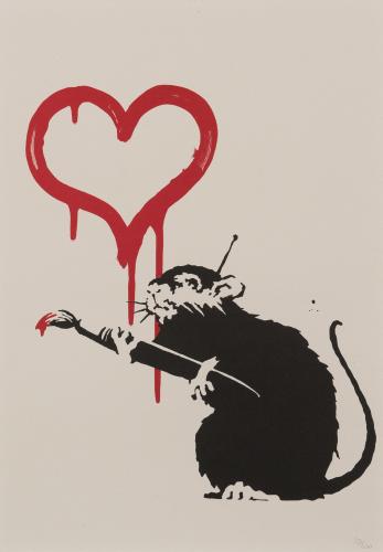 phillips banksy the authentic rebel 08 - Obras icônicas de Banksy serão exibidas pela primeira vez em Taiwan
