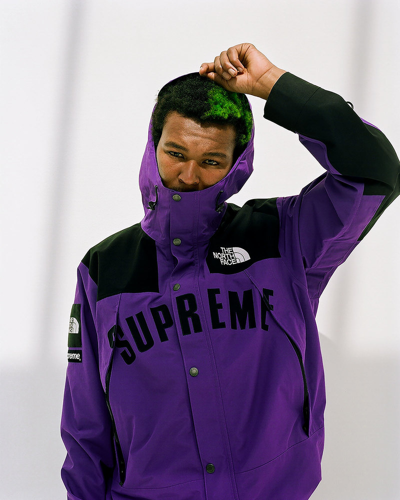 supreme the north face ss19 02 - Supreme e The North Face apostam nas cores CMYK em collab