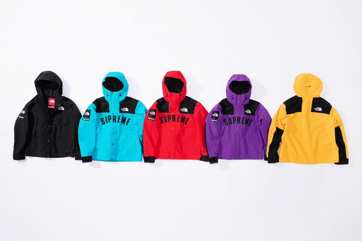 supreme the north face ss19 10 - Supreme e The North Face apostam nas cores CMYK em collab
