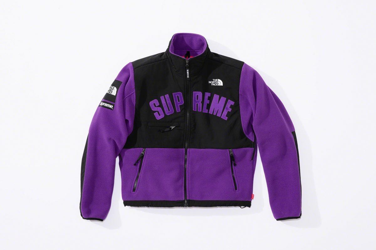 supreme the north face ss19 20 - Supreme e The North Face apostam nas cores CMYK em collab