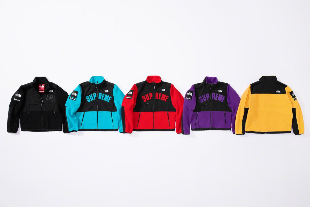 supreme the north face ss19 23 - Supreme e The North Face apostam nas cores CMYK em collab