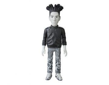 Jean Michel Basquiat vira boneco colecionável da Medicom