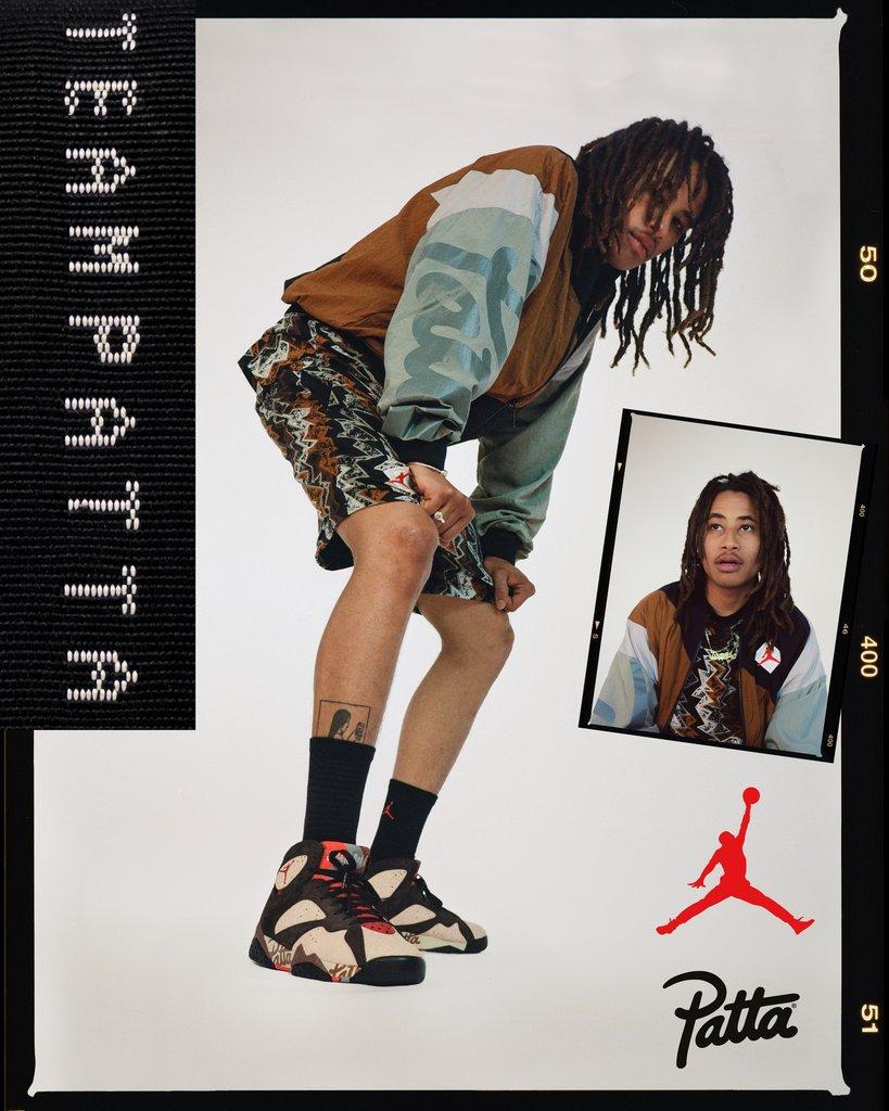 patta x jordan vii collection 2019 01 - Patta e Jordan Brand celebram o basquete em parceria
