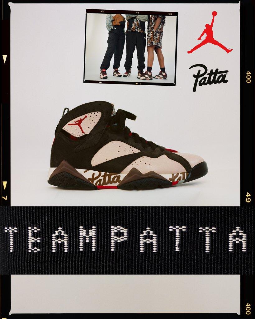 patta x jordan vii collection 2019 08 - Patta e Jordan Brand celebram o basquete em parceria