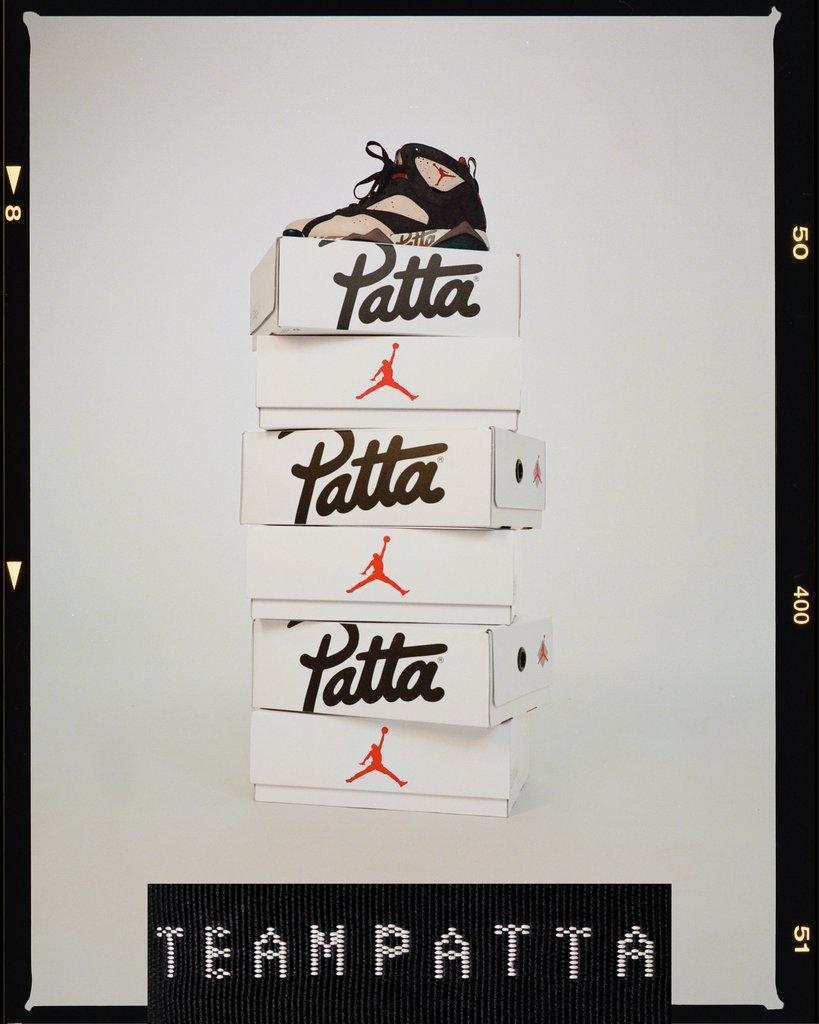 patta x jordan vii collection 2019 09 - Patta e Jordan Brand celebram o basquete em parceria