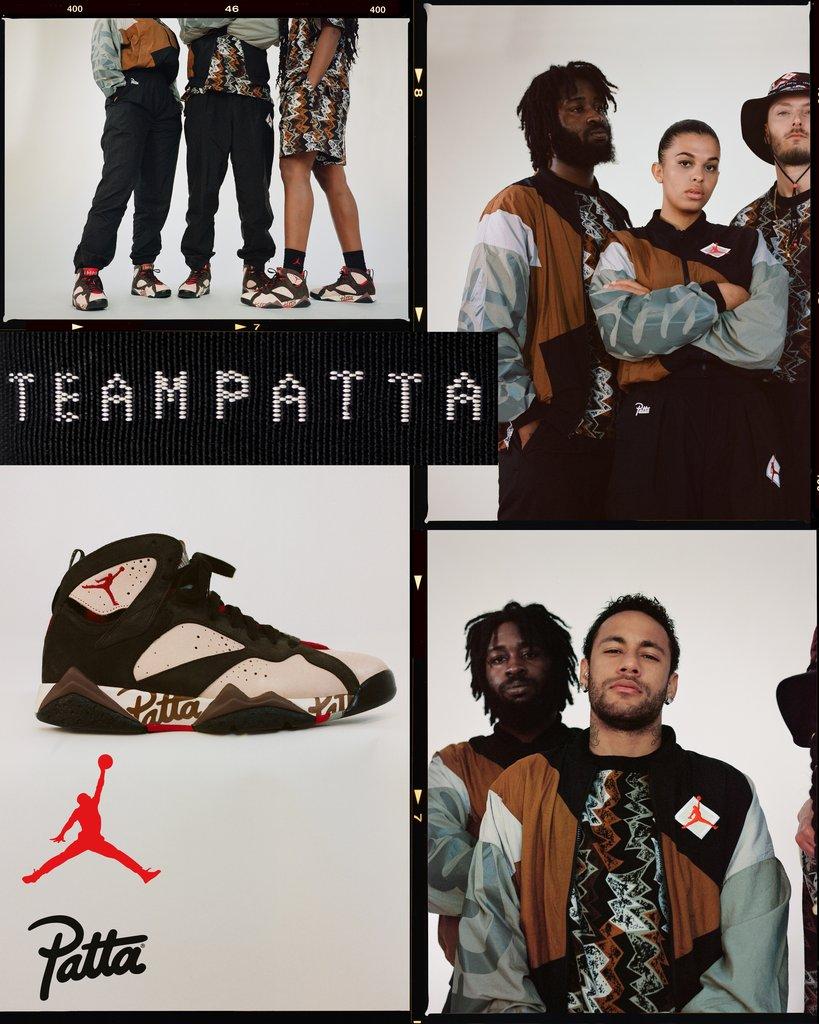 patta x jordan vii collection 2019 10 - Patta e Jordan Brand celebram o basquete em parceria
