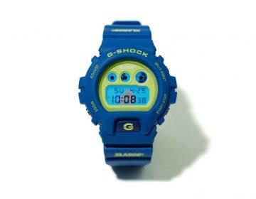 X-LARGE e G-SHOCK colaboram em relógio com cores vibrantes